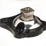 Composite 4-Hole Pyramid Adapter, 10 mm offset