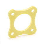 Pediatric 4-Hole Adapter Spacer Plate, 1/8