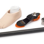 The DuraWalk Foot Heavy Duty Kit comes with a 30 mm titanium adapter with carbon tube.