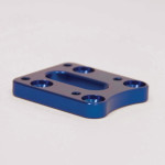 Aluminum 4-Hole 12 mm Offset Plate