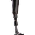 Shock absorption reduces impact on a residual limb.